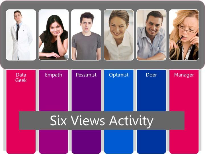 Six Views Activity