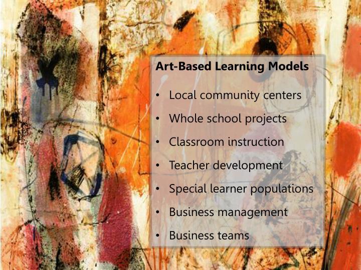 Art-Based Learning Models