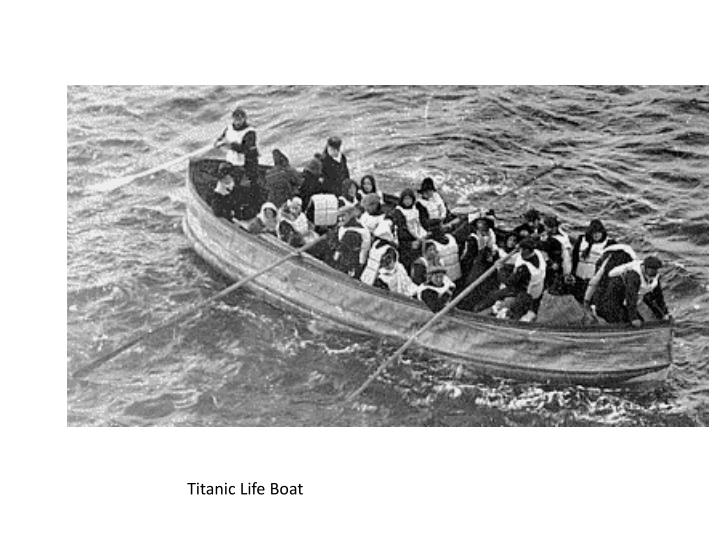 Titanic Life Boat