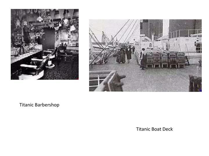 Titanic Barbershop