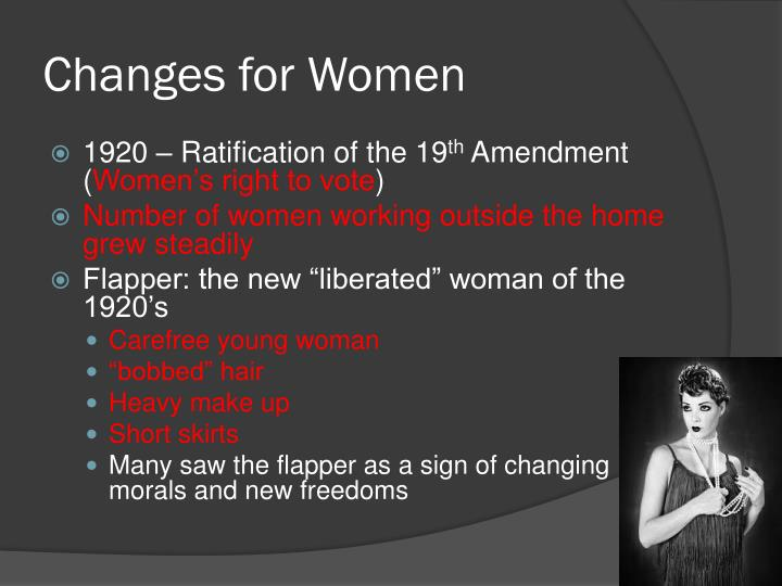Changes for Women