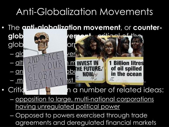 Anti-Globalization Movements