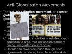 anti globalization movements