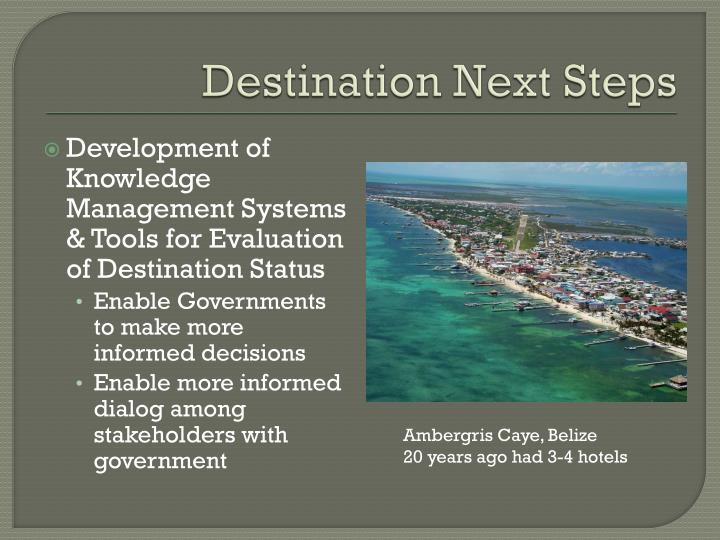 Destination Next Steps