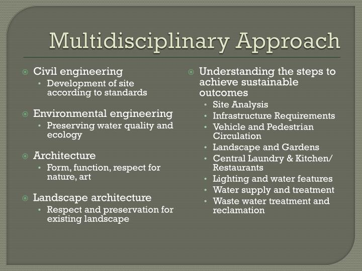 Multidisciplinary Approach