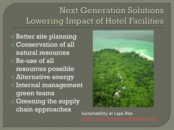 Next Generation Solutions