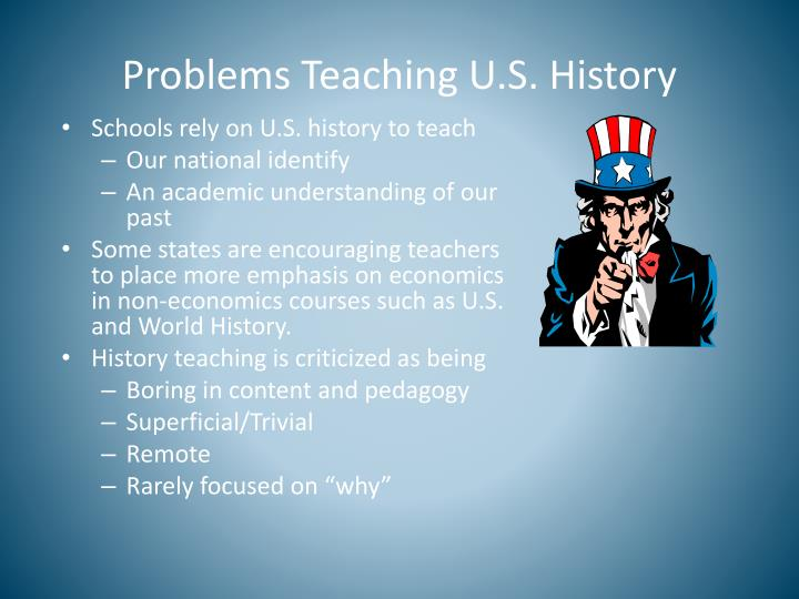 Problems Teaching U.S. History