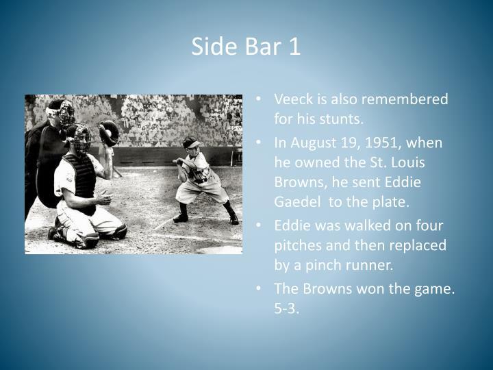 Side Bar 1