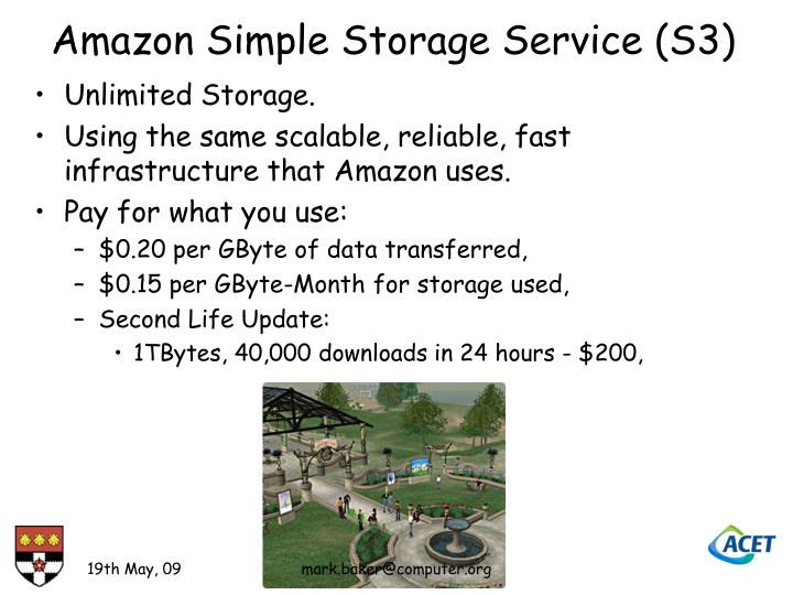 Amazon Simple Storage Service (S3)