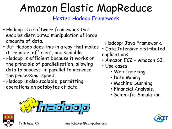 Amazon Elastic MapReduce