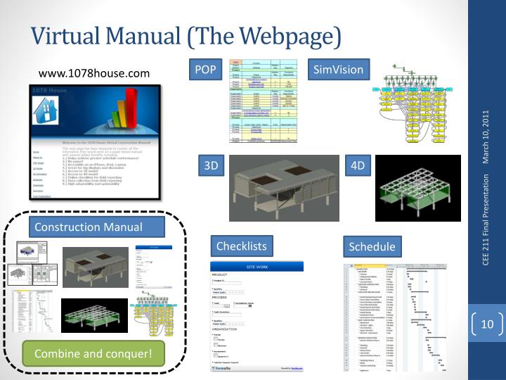 Virtual Manual (The Webpage)