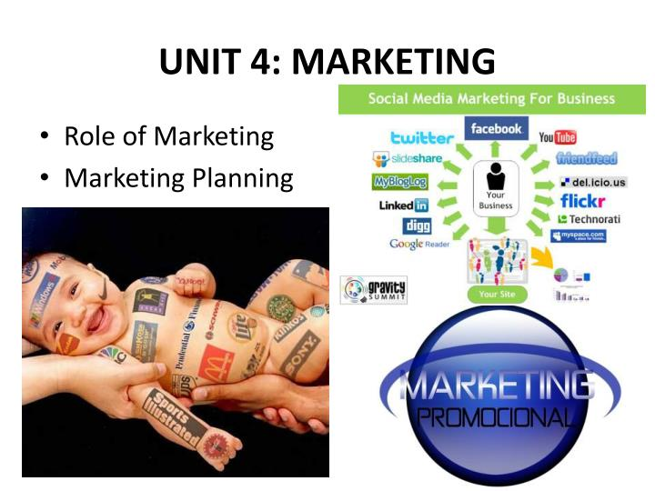 UNIT 4: MARKETING