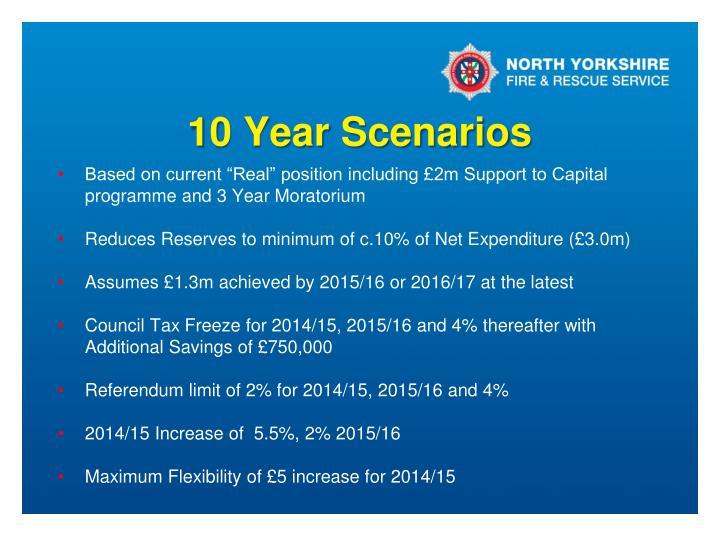 10 Year Scenarios