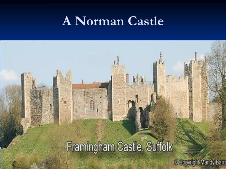 A Norman Castle