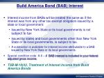 build america bond bab interest