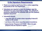e file signature requirements