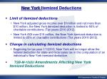 new york itemized deductions