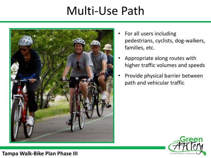 Multi-Use Path