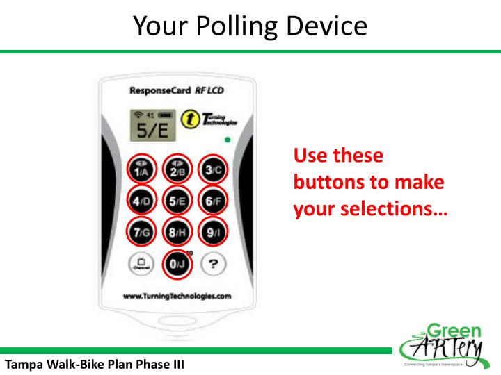 Your Polling Device