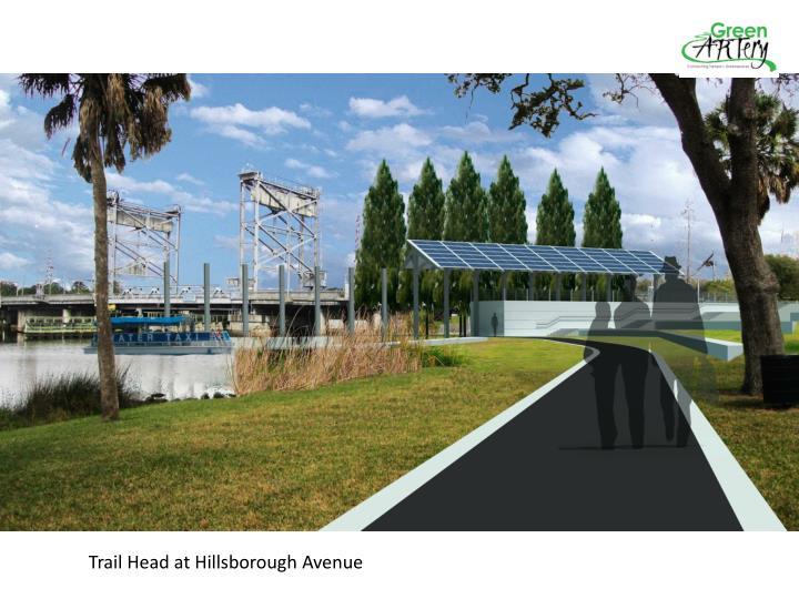 Trail Head at Hillsborough Avenue