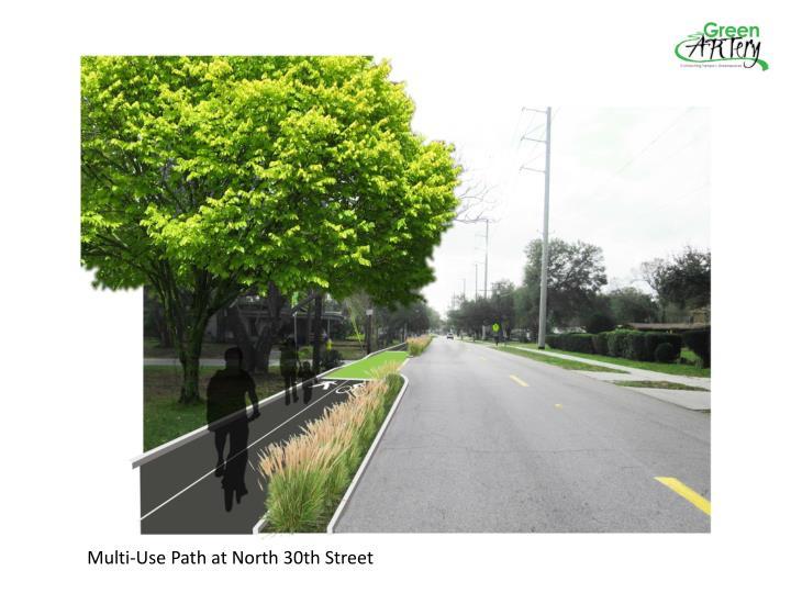 Multi-Use Path at North 30th Street