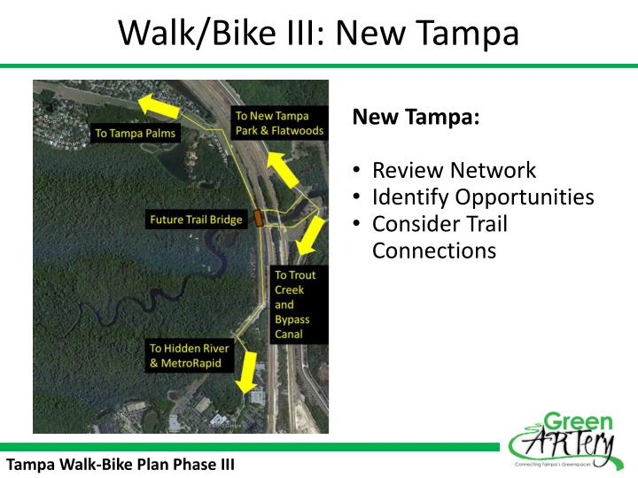 Walk/Bike III: New Tampa