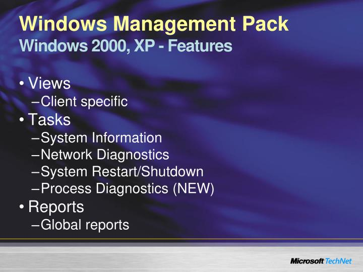 Windows Management Pack