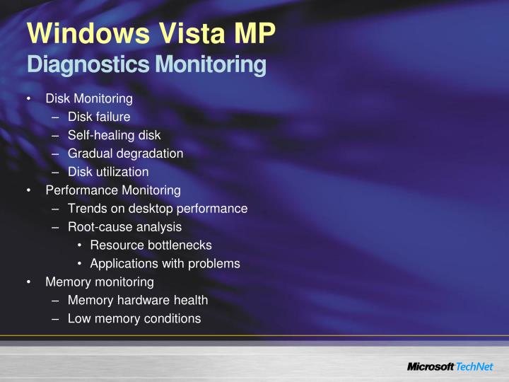 Windows Vista MP