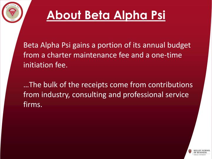 About Beta Alpha Psi