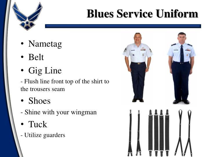 Air force blues uniform regulations