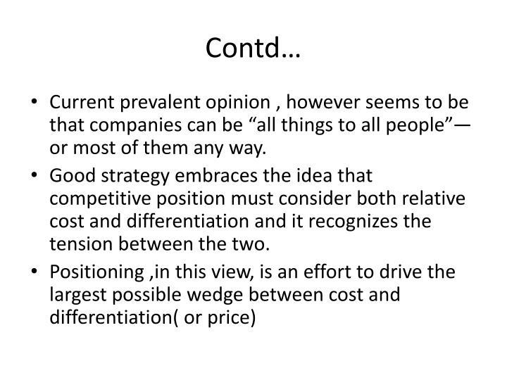 Contd…