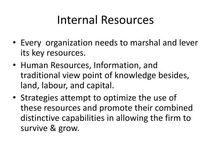 Internal Resources