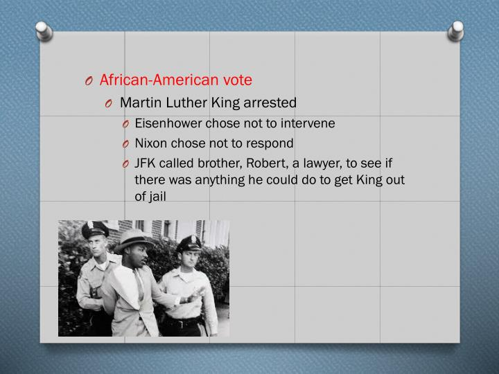African-American vote