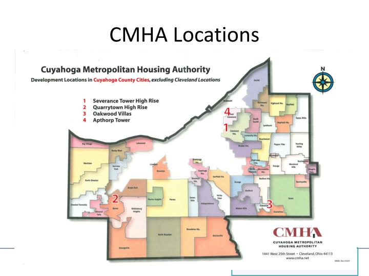 CMHA Locations