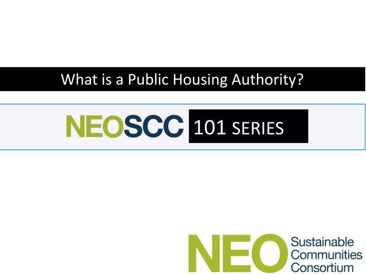 What is a Public Housing Authority?