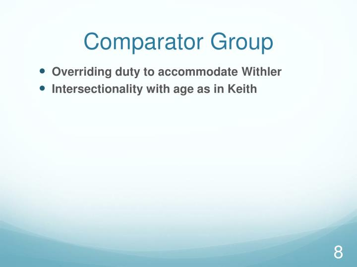 Comparator Group