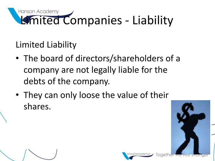Limited Companies - Liability