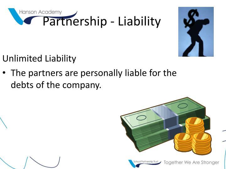 Partnership - Liability