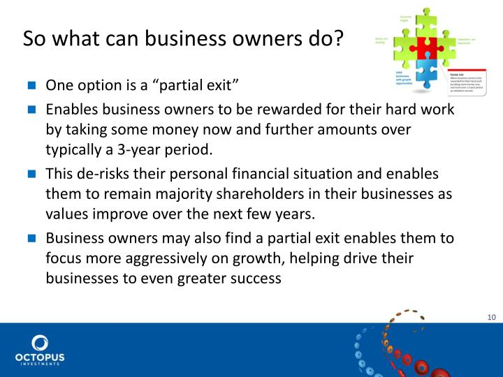 So what can business owners do?