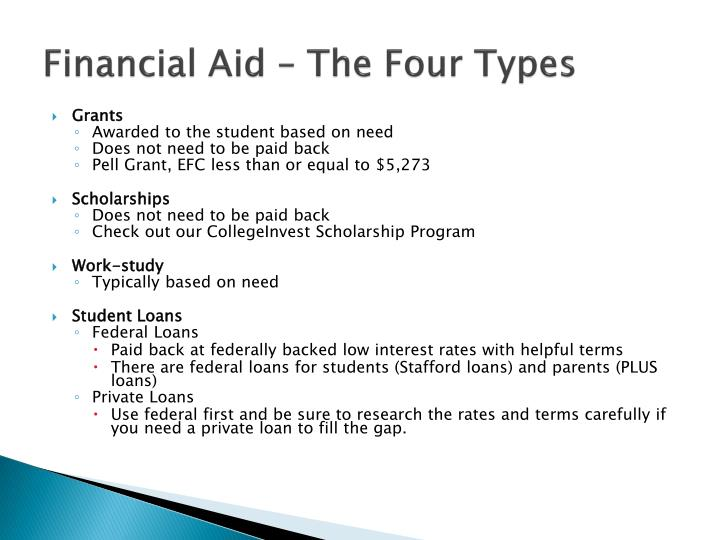 Ppt Financial Aid Parent Student Meeting 1 Powerpoint