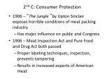 2 nd c consumer protection