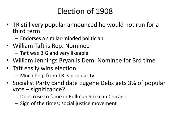 Election of 1908