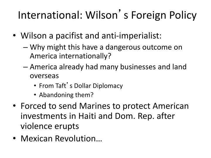 International: Wilson