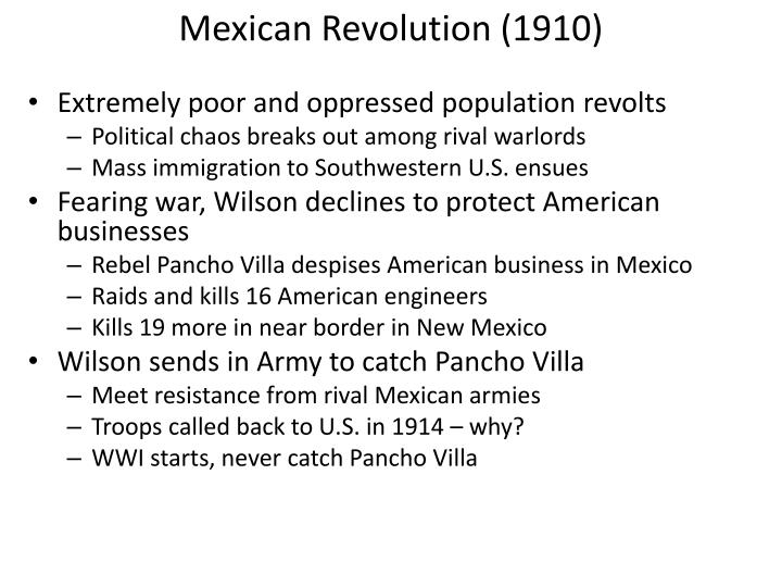 Mexican Revolution (1910)