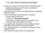 u s latin america relations damaged