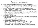 women s movement