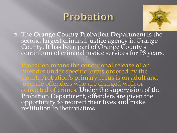 probation crime and california college attended I believe there are a few reasons why i am on academic probation including but not limited to my lack of class crime and california college attended essay.