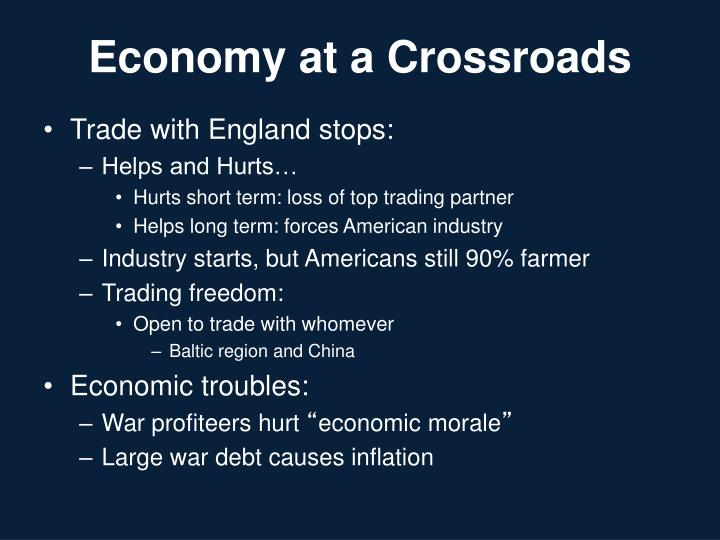 Economy at a Crossroads