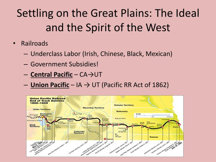 Settling on the Great Plains: The Ideal and the Spirit of the West
