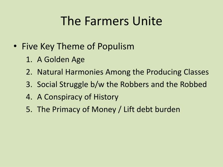 The Farmers Unite